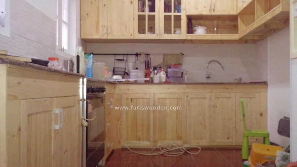 Kitchen Set Jati Belanda Fariswooden Pinewood