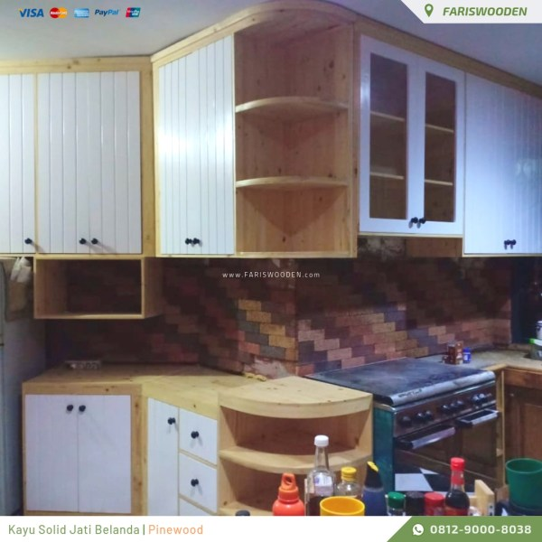 Kitchen Set Kombinasi Warna