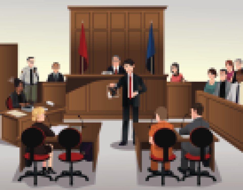 criminal trial court layout