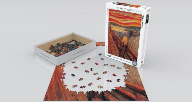 Edvard Munch Yapboz