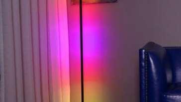 animasyonlu köşe lambası