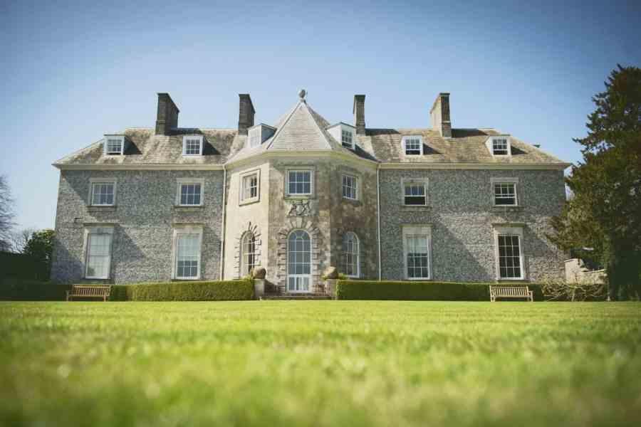 rear facade farleigh house