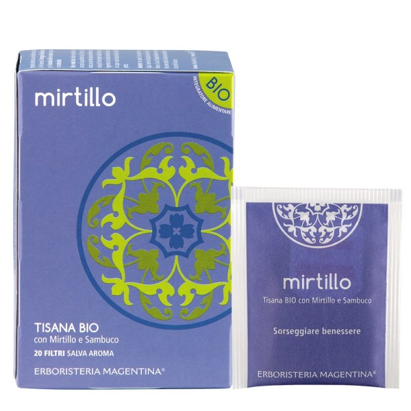 Tisana Bio Mirtillo