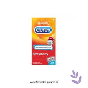 Durex strawberry