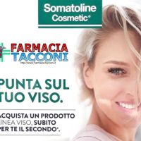 SOMATOLINE 1+1: con un prodotto acquistato, in REGALO SUBITO il secondo