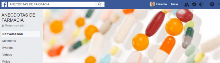 grupo facebook de farmacia