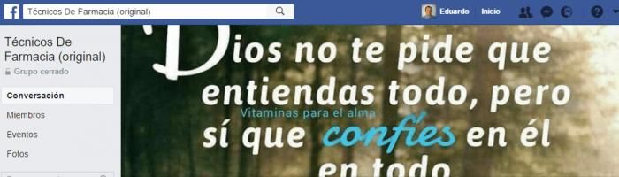 grupos de facebook farmacia