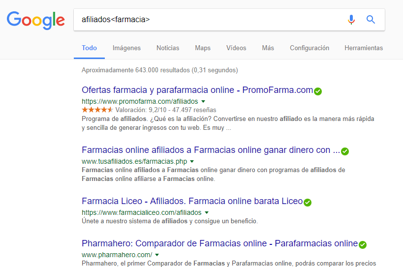 marketing de afiliados blog de farmacia