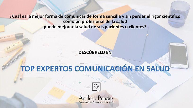 top expertos comunicación en salud