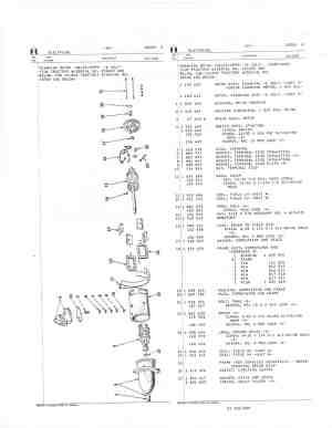 6 Volt Starter parts diagram  Farmall Cub