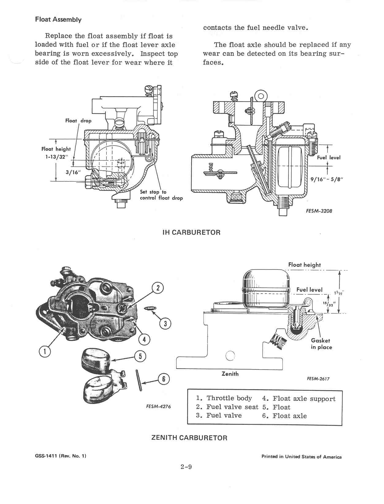 Farmall Super M Carburetor Diagram