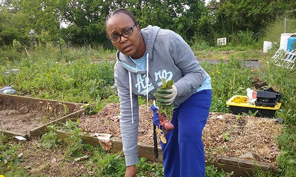 Farmer Spotlight: Rodette Jones of Filbert Street Garden
