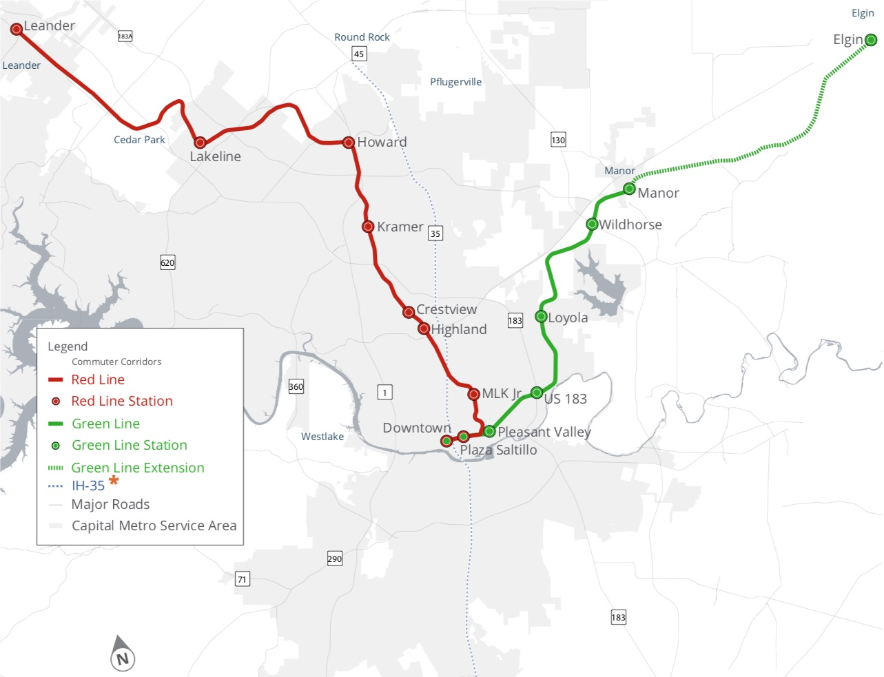 What's wrong with Austin's Green Line rail transit proposal?