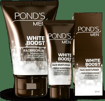 product whiteboost pemutih wajah pria