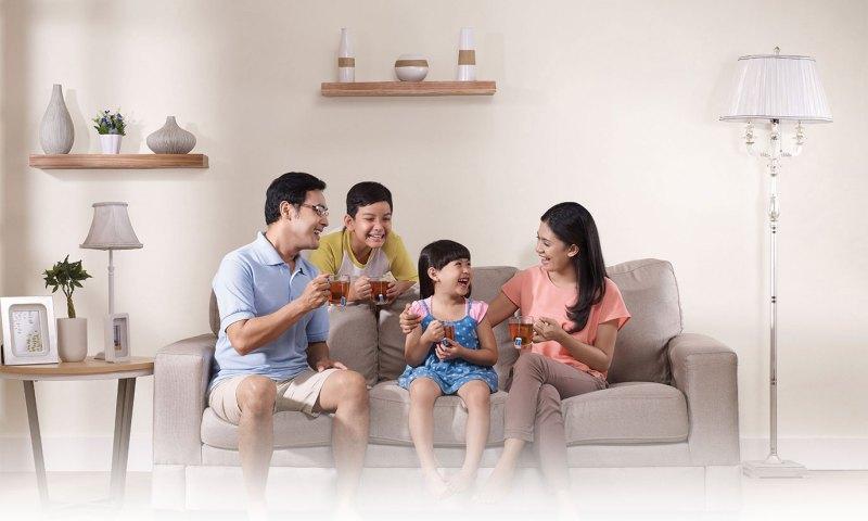 Keceriaan Bagi Keluarga Yang Mengkonsumsi Teh Sariwangi