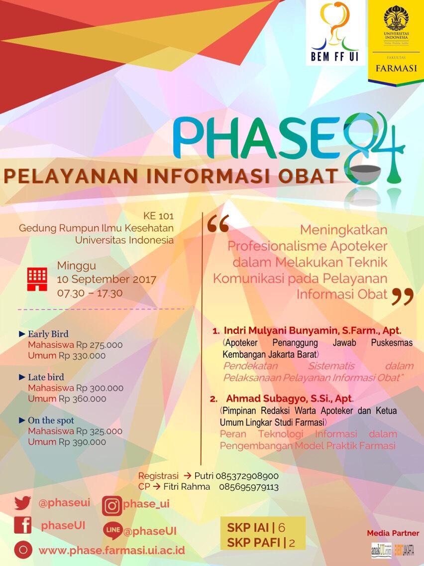 PHASE84 - workshop Pelayanan Informasi Obat (PIO)