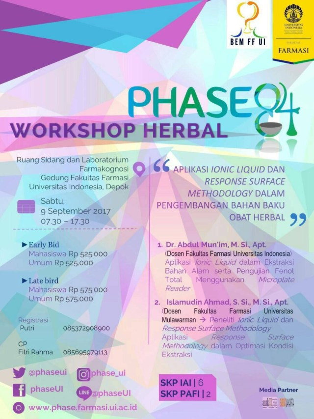 PHASE84 - Workshop Herbal