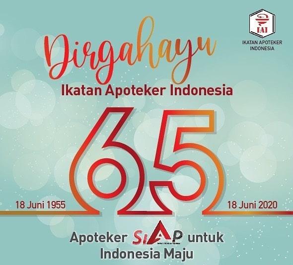 Dirgahayu Ikatan Apoteker Indonesia 65