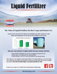 Liquid Fertilizer for your pasture