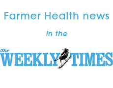Farmer Health news in the Weekly Times