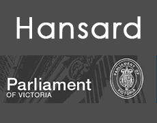 Daily Hansard - Parliament of Victoria