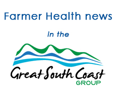 Farmer health news in the Great South Coast Group