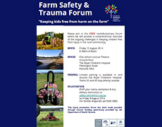 Farm kids safety