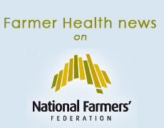 Farmer health news on National Farmers Federation