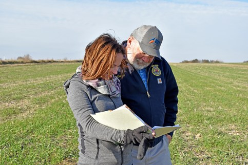 Visit your local USDA service center today to get started with a conservation plan for your working land. Photo Credit: Jason Johnson, USDA's Natural Resources Conservation Service