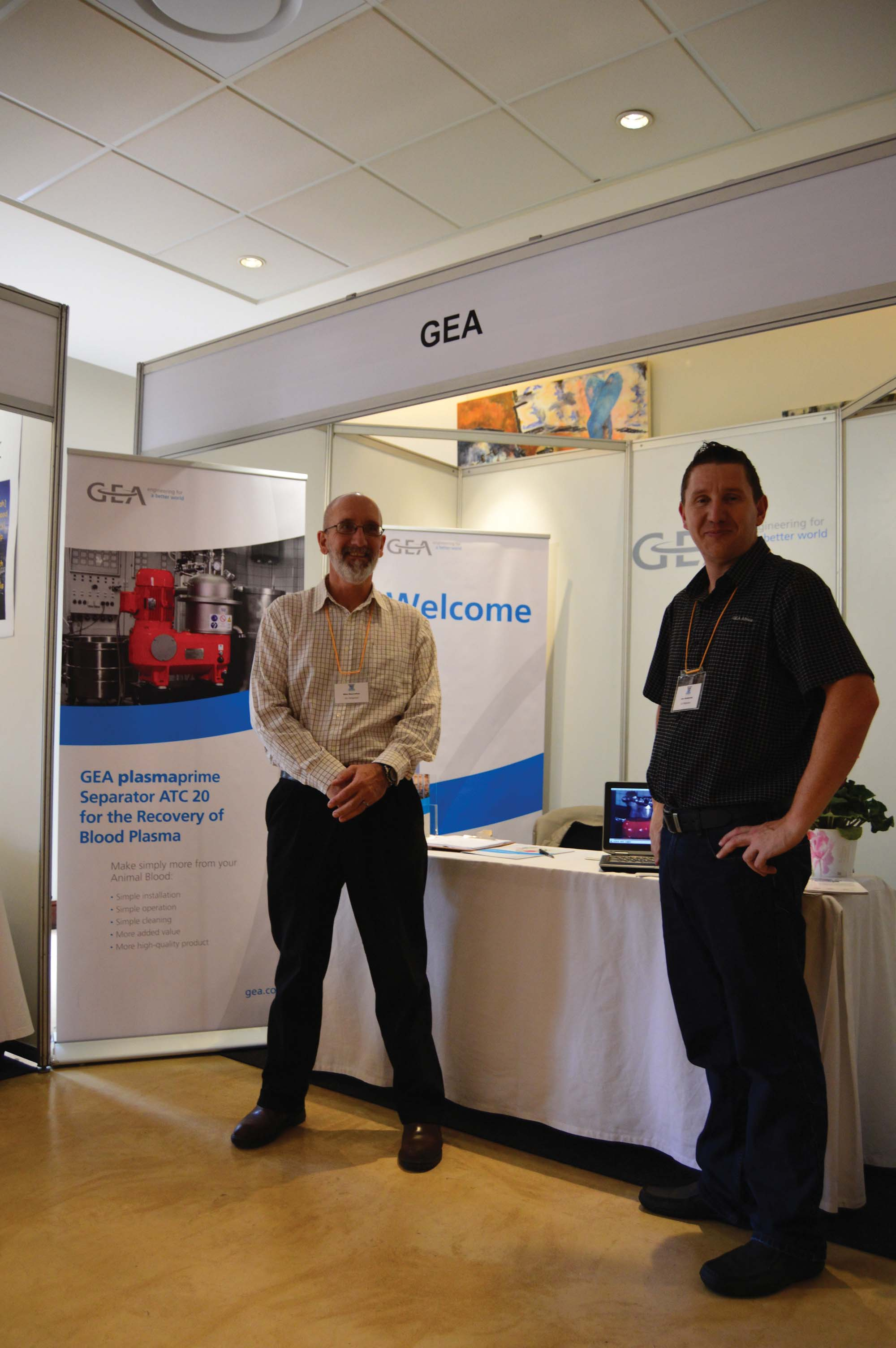 GEA showcases total industry solutions at the 2016 Red Meat and Abattoir Association conference