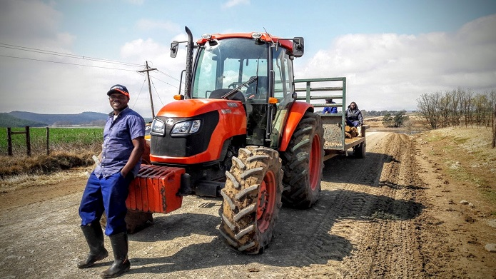 KZN dairy farm reaps rewards of Kubota tractor