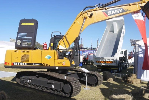 SANY compact equipment for agriculture on show at NAMPO 2018