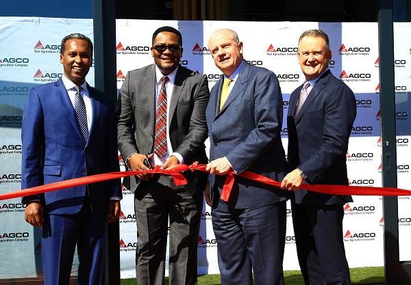 CEO of a US Fortune 500 company, Martin Richenhagen opens AGCO Africa HQ in Johannesburg