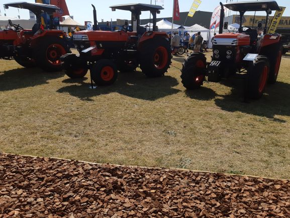 Kubota –Escorts JV Utility Tractors unveiled at Nampo