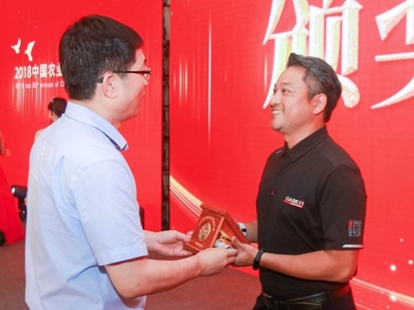 """Case IH Axial-Flow 4099 crowned """"Harvester of the Year"""" in the China Agricultural Machinery Top 50"""