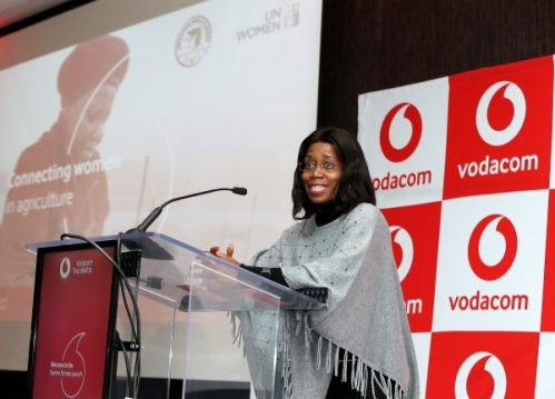 Takalani Netshitenzhe, Chief Officer: Corporate Affairs for Vodacom Group