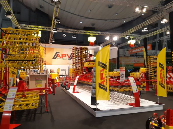APV – successful participation at Agritechnica 2019