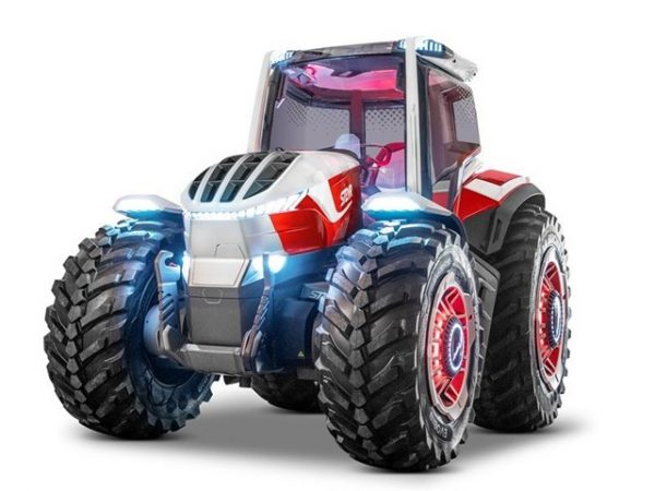 STEYR showcases future farming technology with its STEYR Konzept – a hybrid powered concept tractor