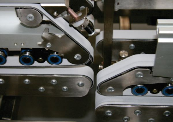 BMG's Ammeraal Beltech Rapplon folder gluer belts meet FDA and EC standards for contact with foodstuffs
