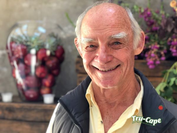 Agriculturist of the year and fruit quality expert for Woordfees.