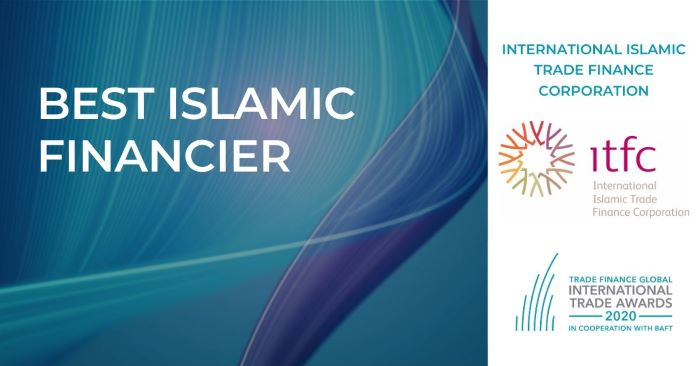 ITFC recognized as Best Islamic Financier at the International Trade Finance Global Trade Awards 2020
