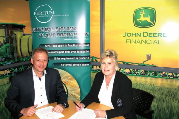 John Deere highlights significance of technology to future farmers'                                fourth industrial revolution drives Africa's green revolution