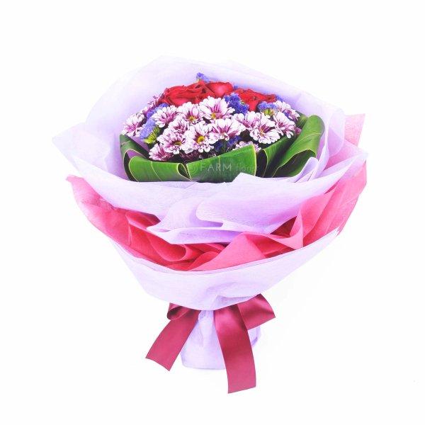 tricia standing bouquet by farm florist singapore