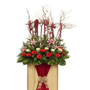 Amazing Excellence Congratulatory Flower Stand