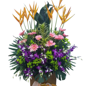 Remarkable Achievement Congratulatory Flower Stand