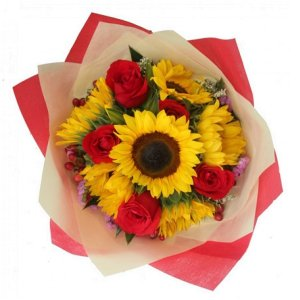 Alexa Sunflower Bouquet by FARM Florist Singapore