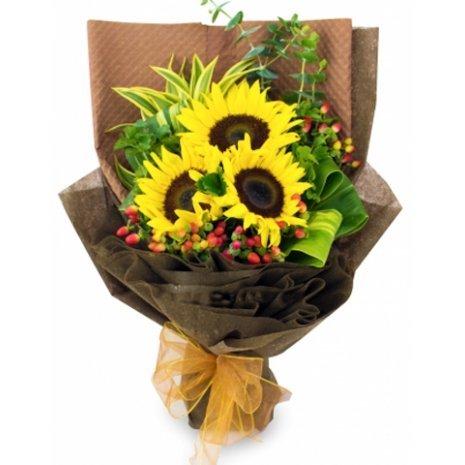 Alisa Sunflower Bouquet by FARM Florist Singapore