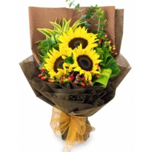 Alisa Sunflower Bouquet by FARM Florist Singapore