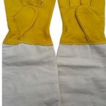 10-Pairs-Wangshi-Bee-Beekeeping-Protective-Goatskin-Soft-Bee-Glove-Size-S-0-0