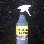 BUNDLE-DEAL-BUY-TWO-32-OZ-BOTTLES-FOR-5000-Mulch-Renu-Black-Ready-to-Spray-32-oz-bottle-covers-up-to-100-Square-Feet-Your-mulch-will-look-great-again-0